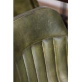 Cadeira de jantar de couro Kindia, imagem miniatura 5