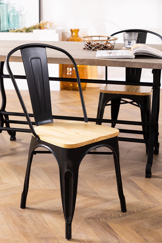 Cadeira LIX Vintage de Madeira, imagem de galeria 1