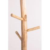Cabide de madeira de teca Aimar, imagem miniatura 4