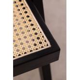 Cadeira de madeira Lali com braços, imagem miniatura 6