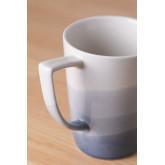 Pack de 4 canecas de porcelana 320 ml Mar, imagem miniatura 2