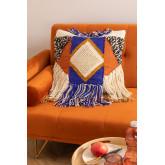Capa de almofada de algodão e juta Ivum, imagem miniatura 1
