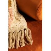 Capa de almofada de algodão e juta (50x50 cm) Tauja, imagem miniatura 5