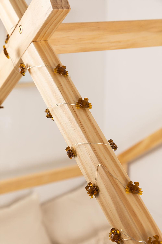 Guirnalda Coroa Decorativa LED Kids  , imagem de galeria 1