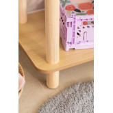 Prateleira infantil Zita com 2 prateleiras de madeira, imagem miniatura 6