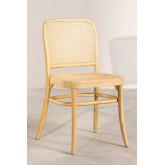 Cadeira de jantar Sharla Wood, imagem miniatura 2