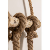 Candeeiro pendente de madeira savy, imagem miniatura 4