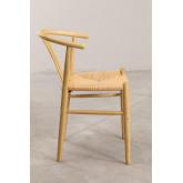 Cadeira de jantar de madeira retro Uish, imagem miniatura 3