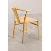 Cadeira de jantar de madeira retro Uish, imagem miniatura 4