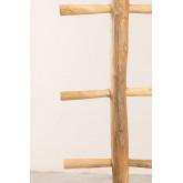 Cabide de madeira de teca Narel, imagem miniatura 3