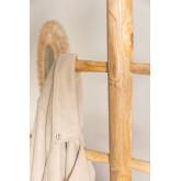 Cabide de madeira de teca Narel, imagem miniatura 4