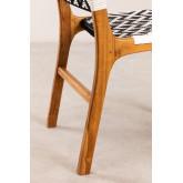 Cadeira de jardim em madeira teca Vana , imagem miniatura 6