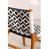 Cadeira de jardim em madeira teca Vana , imagem miniatura 4