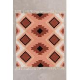 Cobertor xadrez Kelsy de algodão, imagem miniatura 2