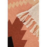 Cobertor xadrez Kelsy de algodão, imagem miniatura 4