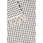 Manta xadrez de algodão aryas, imagem miniatura 4