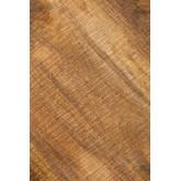 Mesa de cabeceira de madeira Bavi, imagem miniatura 6