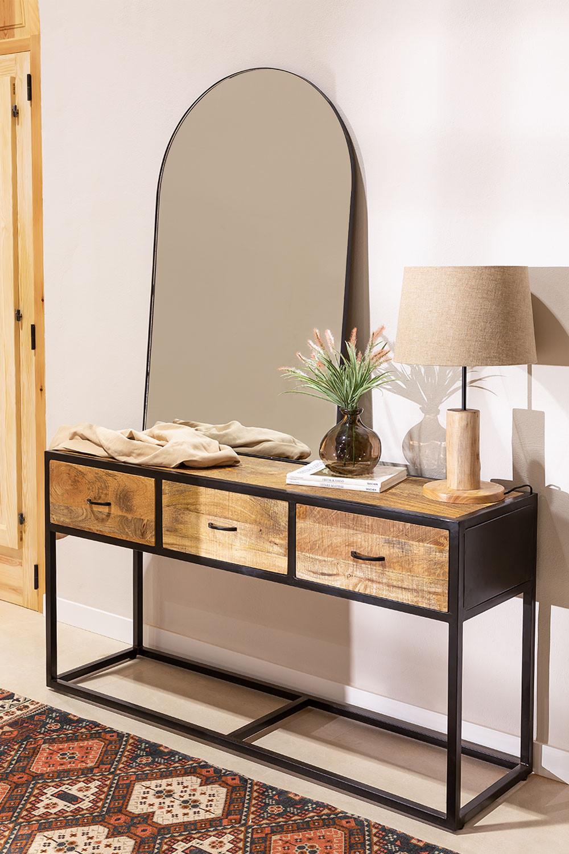 Consola de madeira bavi, imagem de galeria 1
