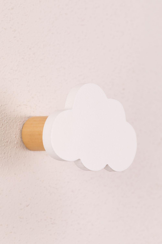Cabide de parede de madeira Paby Kids, imagem de galeria 1