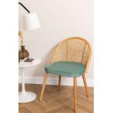 Cadeira de jantar Kloe Wood, imagem miniatura 1