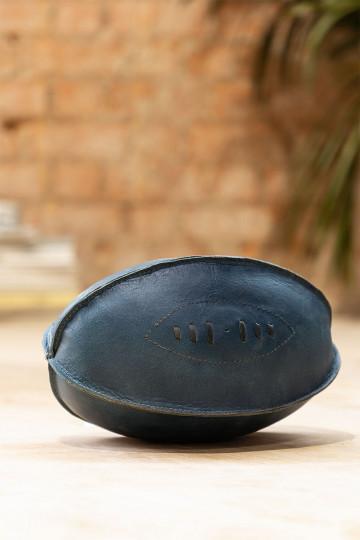 Bola de couro decorativa da lixadeira