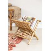 Porta-revistas em Bamboo Lulú, imagem miniatura 1