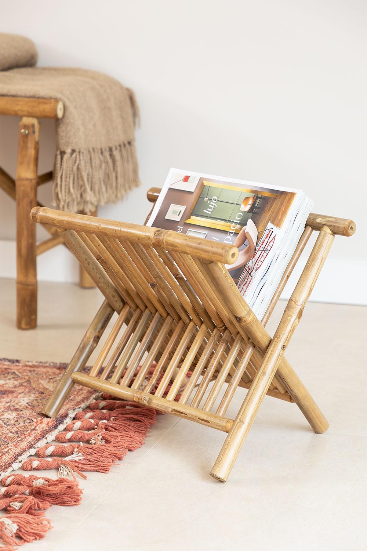 Porta-revistas em Bamboo Lulú, imagem de galeria 1