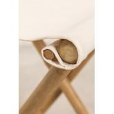 Banco baixo lenhoso de bambu, imagem miniatura 5