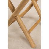 Banco baixo lenhoso de bambu, imagem miniatura 6
