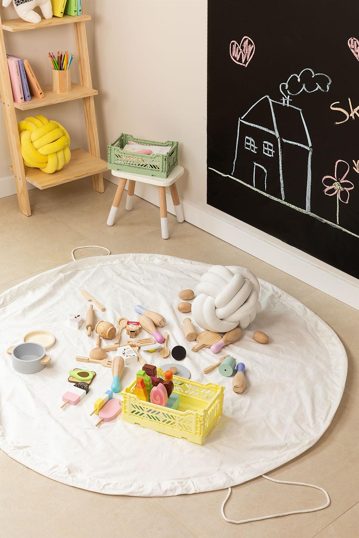Saco de armazenamento de lona infantil Ary, imagem de galeria 1