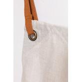 Avental de linho e algodão Zacari, imagem miniatura 4