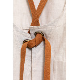 Avental de linho e algodão Zacari, imagem miniatura 6
