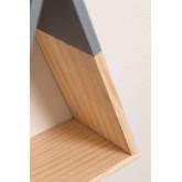 Prateleira de parede de madeira Sius Kids, imagem miniatura 5