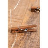 Guirlanda LED Decorativa com Pinças Pitres, imagem miniatura 3