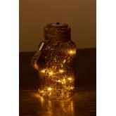 Jarra de vidro com luzes LED Gada, imagem miniatura 3