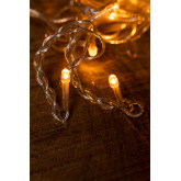 Cortina com luzes LED (2 m) Jill Warm Light, imagem miniatura 6
