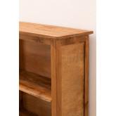 Conjunto de 2 estantes de madeira reciclada Jara, imagem miniatura 5