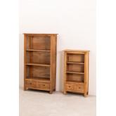 Conjunto de 2 estantes de madeira reciclada Jara, imagem miniatura 2
