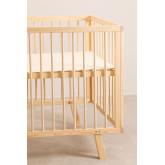 Tianna Kids Wood Crib, imagem miniatura 5