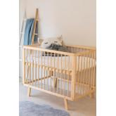 Tianna Kids Wood Crib, imagem miniatura 1