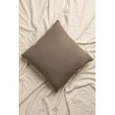 Almofada de algodão bordada (45x45 cm) Aspen, imagem miniatura 3