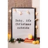 Quadros decorativos de Natal (50x70 cm) Niev, imagem miniatura 1