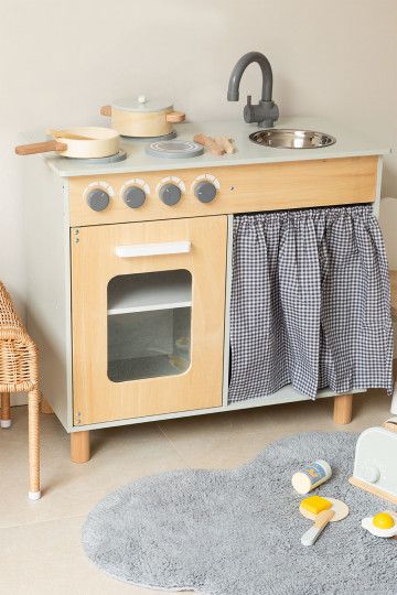 Karin Kids Wood Kitchen