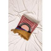 Capa de almofada de algodão e juta albba, imagem miniatura 1