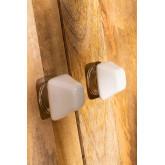 Conjunto de 2 cabos de cerâmica Oly, imagem miniatura 2