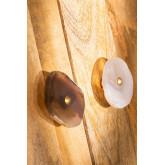 Conjunto de 2 botões de ágata Ameg, imagem miniatura 2