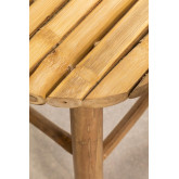 Banquinho baixo em Bamboo Dilio, imagem miniatura 4