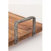 Bandeja de madeira reciclada baka, imagem miniatura 5