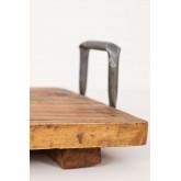 Bandeja de madeira reciclada baka, imagem miniatura 6