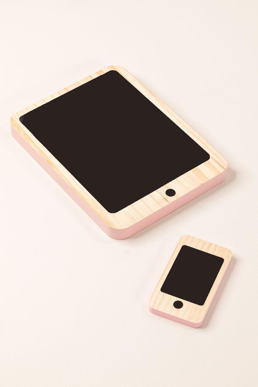 Tablet de madeira Gamis Kids e conjunto móvel, imagem de galeria 1